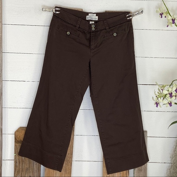 Old Navy Pants - Old Navy Stretch Cropped Pants 8